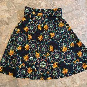 Small Lularoe LLR Azure Skirt
